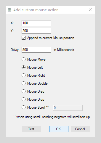 Mouse Action example