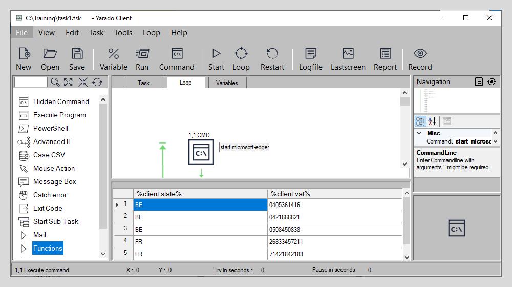 Loop datasheet
