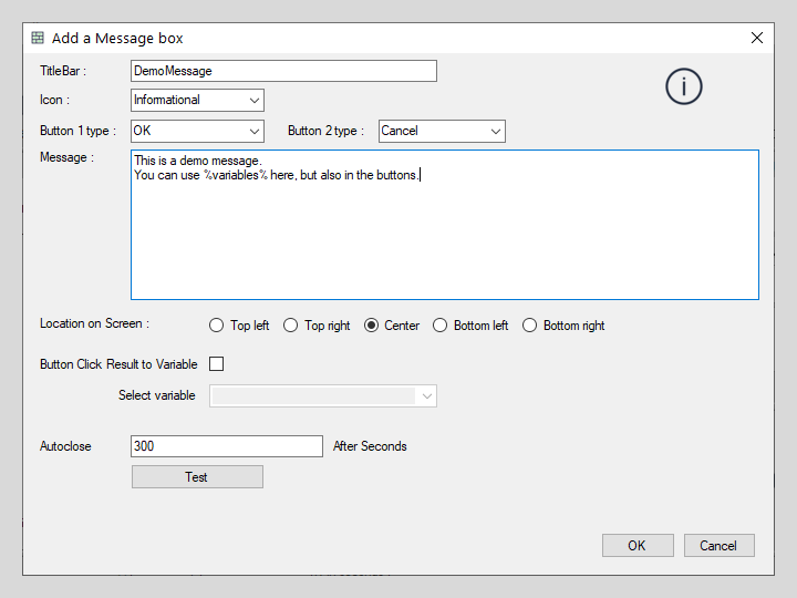 Mouse Action interface