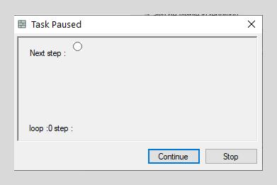 Pause task